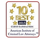 Ten Best in Client Satisfaction Award